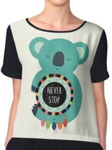 Never Stop Dreaming Chiffon Top