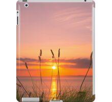 wild tall grass sunset iPad Case/Skin