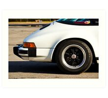 Porsche 911 Carrera Tail Art Print