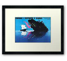 The Sea Monster Framed Print