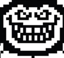 Undertale Flowey Evil Homicide Sticker