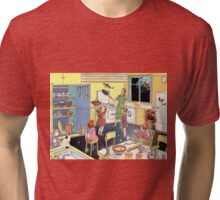 THE DINNER IS READY!  Tri-blend T-Shirt