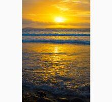 yellow sunset at beal beach Unisex T-Shirt