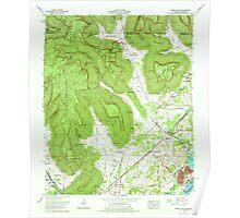 USGS TOPO Map Alabama AL Doran Cove 303698 1967 24000 Poster