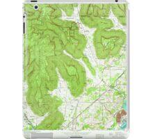 USGS TOPO Map Alabama AL Doran Cove 303698 1967 24000 iPad Case/Skin