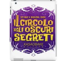 Il circolo degli oscuri segreti/color iPad Case/Skin