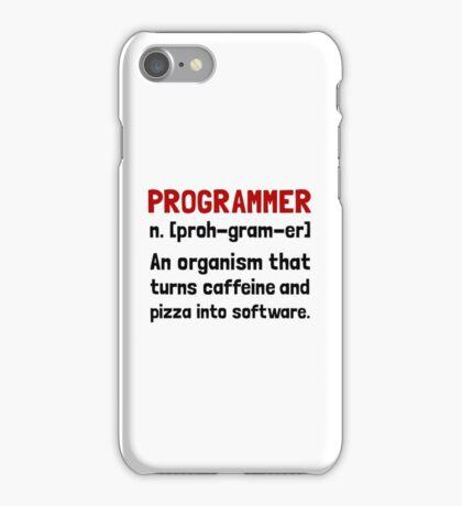 Programmer Definition iPhone Case/Skin