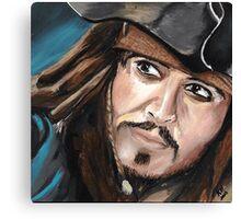 Capitan Jack Sparrow Canvas Print