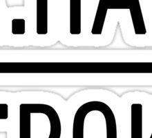 A.Ham A.Burr mirror Sticker