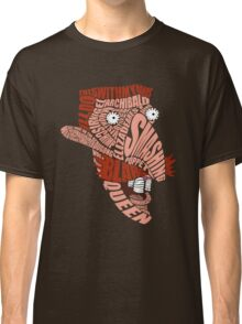 Nigel Thornberry Typography Classic T-Shirt