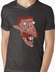 Nigel Thornberry Typography Mens V-Neck T-Shirt