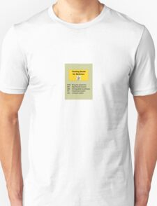 A Texting Guide for the new Retiree T-Shirt