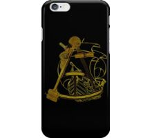 Measuring The Territory At Sea iPhone Case/Skin