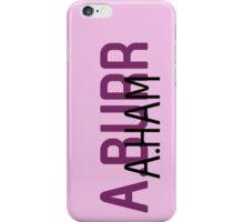 A.Ham A.Burr iPhone Case/Skin