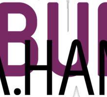 A.Ham A.Burr Sticker