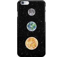 MOON EARTH SUN  iPhone Case/Skin