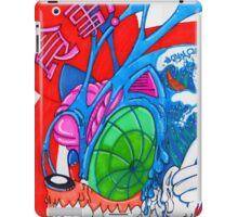 great hog off kanagawa iPad Case/Skin