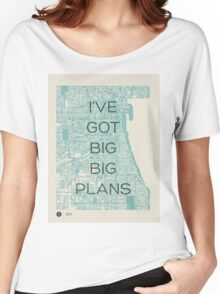 I've Got Big Big  Plans // The Front Bottoms Women's Relaxed Fit T-Shirt