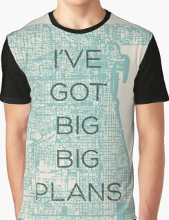 I've Got Big Big  Plans // The Front Bottoms Graphic T-Shirt