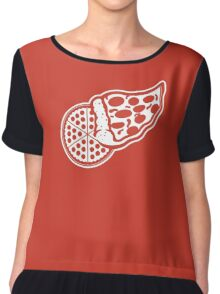 Red Wings Pizzarena Chiffon Top