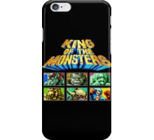 King of the Monsters (Neo Geo) iPhone Case/Skin