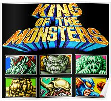 King of the Monsters (Neo Geo) Poster