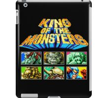 King of the Monsters (Neo Geo) iPad Case/Skin
