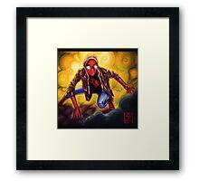Spiderman  Framed Print