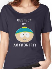 Cartman - Respect my authority Women's Relaxed Fit T-Shirt