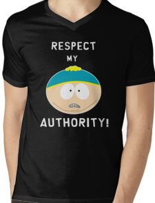 Cartman - Respect my authority Mens V-Neck T-Shirt