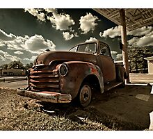 Abandoned Chevy 3100 Photographic Print