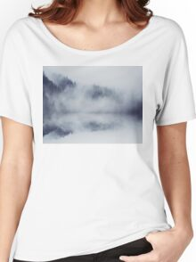 Abstract foggy woods Women's Relaxed Fit T-Shirt
