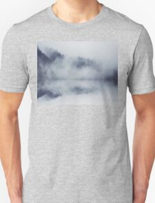 Abstract foggy woods T-Shirt