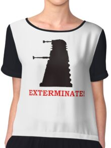 Exterminate - Doctor Who Chiffon Top