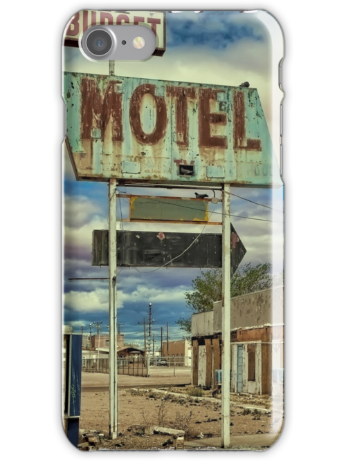 Route 66 Budget Motel by Warren Paul Harris