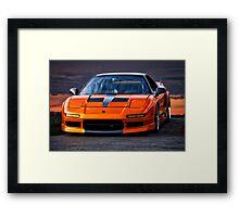 1991 Acura NSX Framed Print