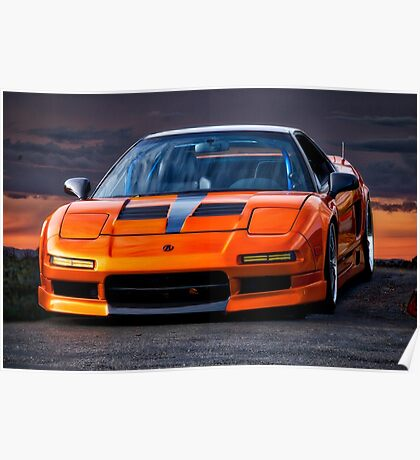 1991 Acura NSX Poster
