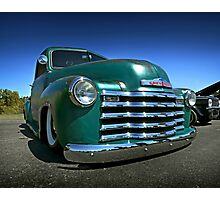 Chevy 3100 Pickup Photographic Print