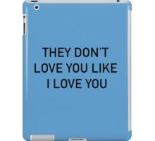 Love iPad Case/Skin