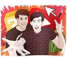 The World of Dan & Phil Poster
