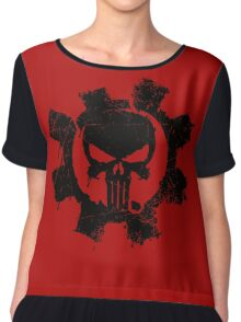Punisher Women's Chiffon Top
