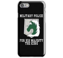 Militaty Police iPhone Case/Skin