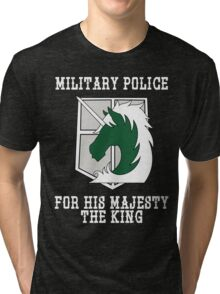 Militaty Police Tri-blend T-Shirt