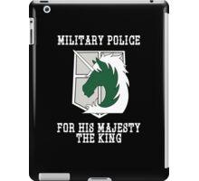 Militaty Police iPad Case/Skin
