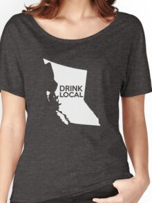 British Columbia Drink Local BC Women's Relaxed Fit T-Shirt