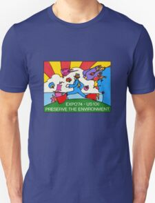 Psychedelic US Stamp T-Shirt