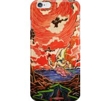 She doesn't know the vision. Do not tell her. She doesn't know.  iPhone Case/Skin