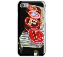 Classic Neon Cafe Sign iPhone 4 Case iPhone Case/Skin
