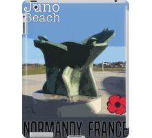 Juno Beach Poster iPad Case/Skin