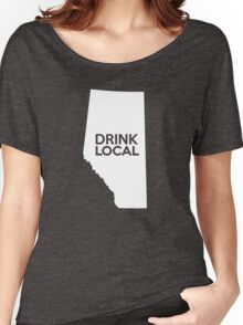 Alberta Drink Local AB Women's Relaxed Fit T-Shirt